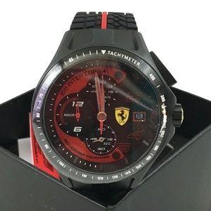 Ferrari Scuderia Heritage Race Watch 830077 Chrono